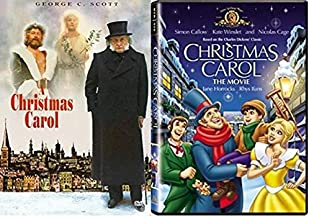 A christmas Carol 1984 / Christmas Carol - The Movie MGM - George C. Scott - A Charles Dickens' Holiday Collection