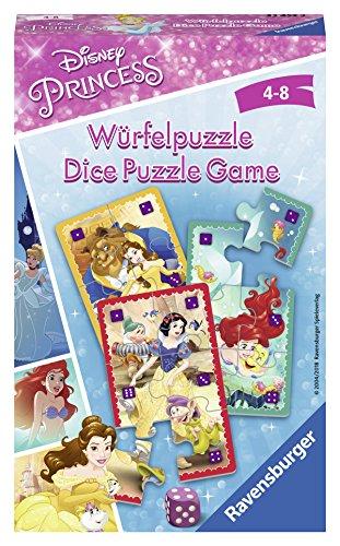Ravensburger Mitbringspiele 23452 - Disney Princess Würfelpuzzle