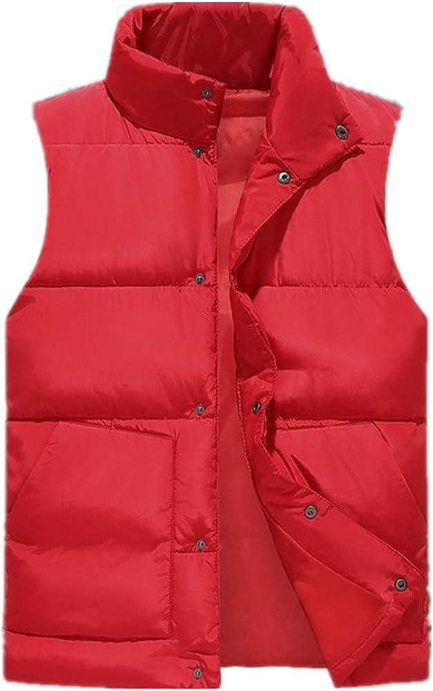 Vest Men Autumn Winter Sleeveless Waistcoat Men's Vest Casual Coats Mens