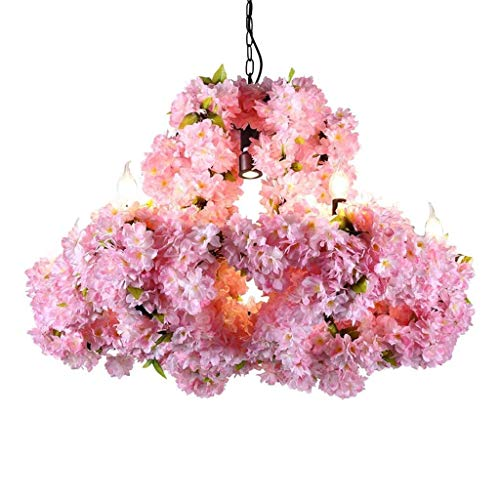 XXCC creatieve eenvoud opknoping licht muziek restaurant verlichting bloem decoratie kroonluchter smeedijzeren huis E27 lamp houder koffiebar hanglampen