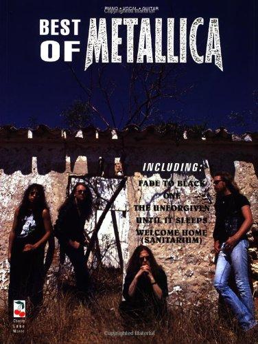 Metallica Best Of Pvg (Album): Noten für Gesang, Klavier (Gitarre)