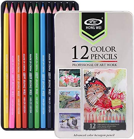 Drawing colored pencils Art coloring pencil set For Adults and Kids Beginners Artists color product image