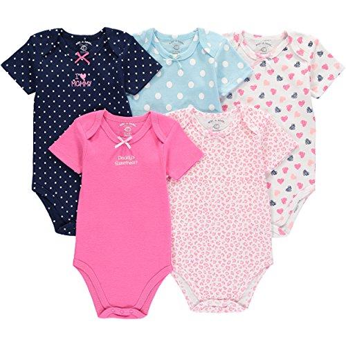 Wan-A-Beez 5 Pack Baby Girls