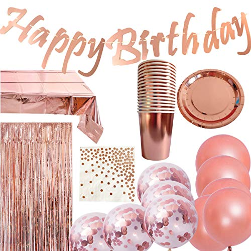 Jolily Rose Gold Birthday Party ...
