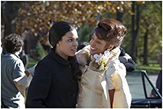 Sparkle Jordin Sparks Surprised with Smiling Whitney Houston 8 x 10 inch Photo