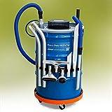 EXAIR Hepa Vac Aspiradora en seco de alto rendimiento para barril de 205 litros (el barril no está incluido)