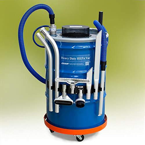 Hepa Vac Deluxe - Aspirador de alta potencia para barril de 112 litros (barril no incluido)