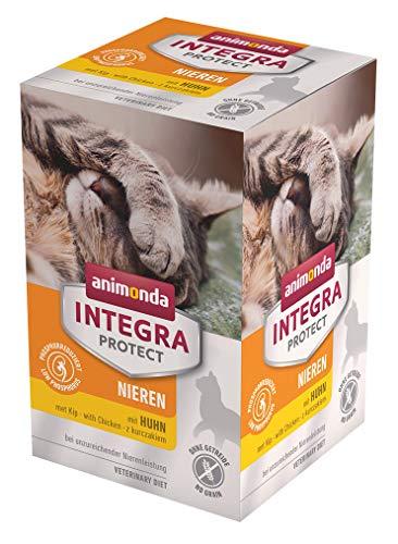 Animonda Integra Protect nieren met dieet kattenvoer bij chronische nier-efficiëntie, 600 g