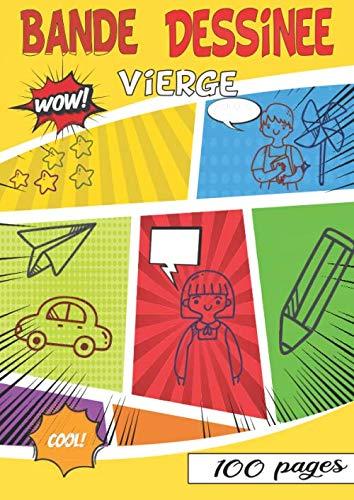 professionnel comparateur Bandes dessinées vierges: 10 histoires sur 100 tableaux – Des activités créatives pour tous choix