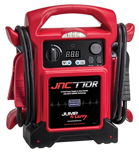 Clore Automotive Jump-N-Carry JNC770R 1700 Peak Amp Premium 12 Volt Jump Starter - Red