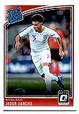 2018-19 Donruss Optic #189 Jadon Sancho England Rookie Soccer Card. rookie card picture