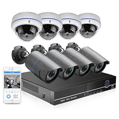 Cámara 8CH 2MP POE NVR KIT Cámara de seguridad CCTV SISTEMA CCTV 3MP INTERIOR AUTORIR AUTALIENTE RECORDO DE AUDIO DE AUDICION DE AUTORIA CAMIÓN DE DOME P2P Video Conjunto de videovigilancia Vigilancia