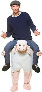 Carry Me Sheep Lamb Ride On New Fancy Dress Piggy Back Adult Farm Animal Costume