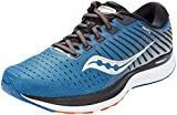 Saucony Men's S20548-25 Guide 13 Running Shoe, Blue/Silver - 10 M US