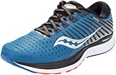 New PWRRUN cushioning provides just-right softness that's responsive enough to tackle as many miles as you wish The new medial TPU guidance frame quickly and quietly guides each foot through its natural gait cycle for the smoothest feel yet FORMFIT s...