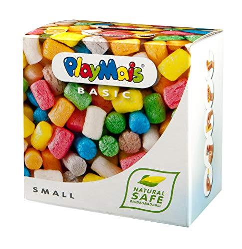 PlayMais Basic Bastel-Set für Kinder ab 3 Jahren   Bunte Basteln   Natürliches Spielzeug   Fördert Kreativität & Motorik   Geschenk für Mädchen & Jungen (Small)