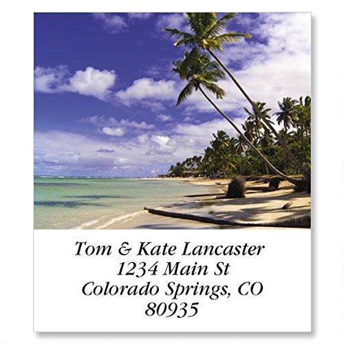 Seascapes Self-Adhesive, Flat-Sheet Select Address Labels (12 Designs)