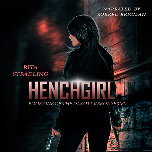 Henchgirl audiobook cover art