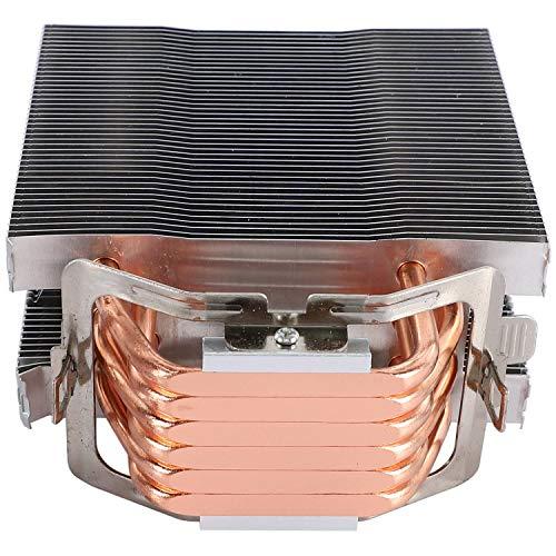 Andifany Enfriador de CPU Sin Ventilador Ventilador de 12 Cm 6 Heatpipes de Cobre Radiador de Enfriamiento Sin Ventilador para LGA 1150/1151/1155/1156/1366/775/2011