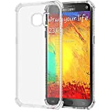 Galaxy S7 Edge Case, LUVVITT [Clear Grip] Soft Slim Flexible TPU Back Cover Transparent Rubber Case for Samsung Galaxy S7 Edge - Clear