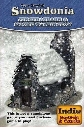 Indie Board & Card Games IBG0SN02 - Snowdonia: Jungfraubahn und Mount Washington Brettspiele