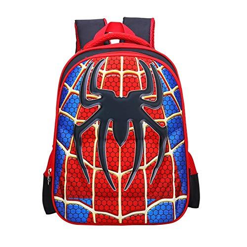 Mochila impermeable con diseño de Spiderman 3D, mochila escolar con diseño de superhéroe, para…