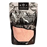 The Spice Lab Himalayan Salt - Fine 1 Lb Bag - Pink Himalayan Salt is Nutrient and Mineral Dense for Health - Gourmet Pure Crystal - Kosher & Natural Certified