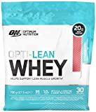 Optimum Nutrition Opti-Lean Diet Whey Protein Powder with CLA and L-Carnitine. Low Fat Protein Shake by ON - Strawberry, 30 Servings, 780g