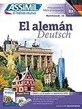 El aleman alumno (CD4+USB): Multimedia-Kombination: Lehrbuch Deutsch für Spanier (DaF-Niveau A1 - B2) + 4 Audio-CDs + mp3-CD (Senza sforzo)