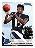 2019 Donruss #312 Marquise Brown Baltimore Ravens RR (Rated Rookie) NFL Football Card (RC - Rookie Card) NM-MT