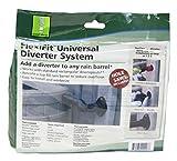 Good Ideas RW-DIVFLX-BLK Flex Kit Rain Barrel...