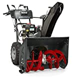 Briggs & Stratton 1227MDS Elite Series 27-Inch Dual-Stage Snow Blower with Push Button Electric Start, Heated Hand Grips, and Free Hand Control