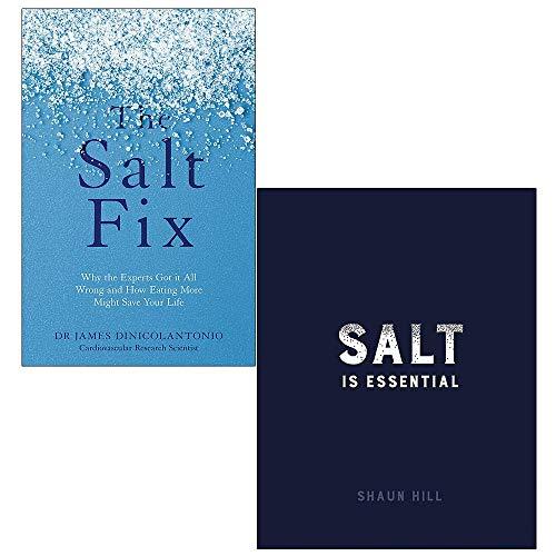Price comparison product image The Salt Fix,  Salt is Essential [Hardcover] 2 Books Collection Set