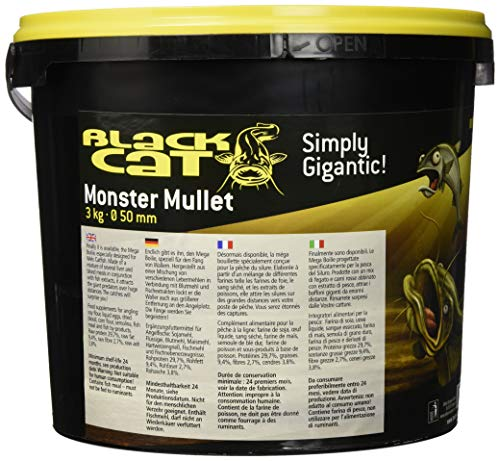 Black Cat Monster Mullet 50mm