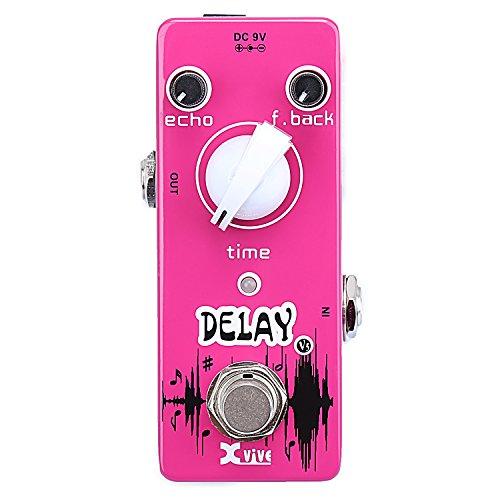 Xvive XV5 - Pedal de efecto eco/delay/reverb para guitarra