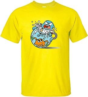 BRQ Man T-shirt Anime The Amazing World Of Gumball 100% cotton Summer Top Cute Men Short Sleeve