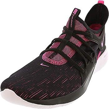Nike Womens Flex Contact 3 Trainers Flexible Running Shoes Black 8 Medium  B,M