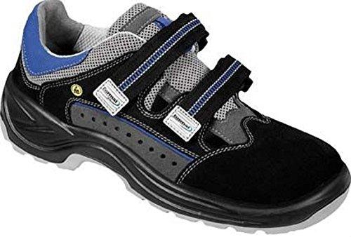 FORMAT Linus Sicherheitsschuh Sicherheitsschuhe Sandale Flach Sommer offen ESD, Größe:39