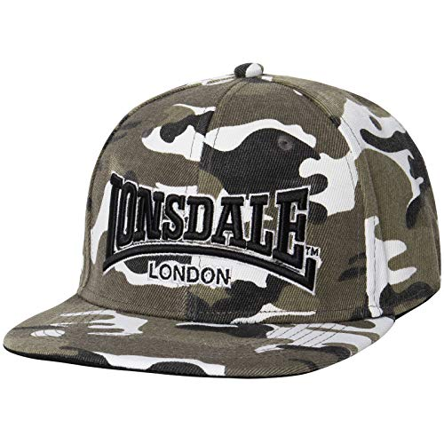 Lonsdale London Meriden Kappe, Camo Woodland, One Size