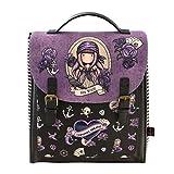 SANTORO Mochila Grande de Gorjuss Sea Nixie, 290x150x360mm, purple