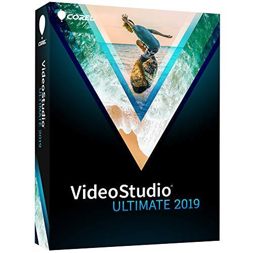 Corel VideoStudio Ultimate 2019 - Video & Movie Editing Suite [PC Disc] [Old Version]