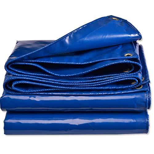 QIAOH Lona De Protección con Ojales 2×1.5m, Lona Impermeable Exterior, Lona Impermeable Universal con Ojales Toldo Y Duradera Resistente Al Agua Y a Los Rayos UV