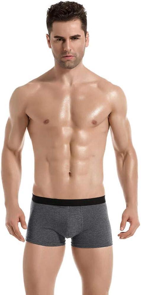 Boxer Shorts Mens 8Pcs/Lot Mens Boxer Underwear Shorts Knicker Thermal Panties Smart Casual Man Underpants Cotton U Convex Set Pants-H_3Xl