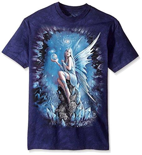 The Mountain unisex adult Stokes Stargaze T Shirt, Purple, XX-Large US
