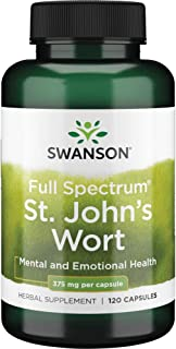 Sponsored Ad - Swanson St. John's Wort Mood Regulation Stress Response Relaxation Emotional Wellbeing Support Supplement 3...