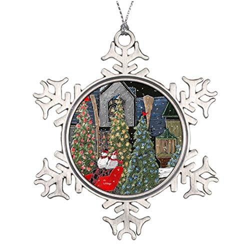Christmas Ornaments, Gatlinburg Christmas Ornament Tree Hanging Decor Gift For Families Friends,3 Inch