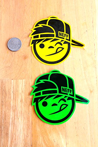 Neff Classic Boy Sticker/Decal (Green) (5)
