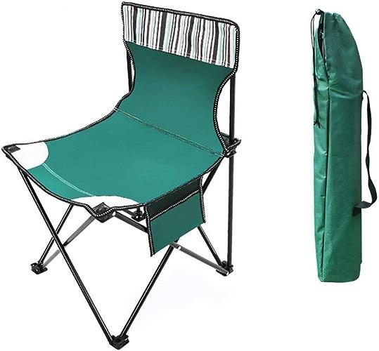 Zioaxxic Chaise de Camping Chaise Pliante extérieure, Festival de Chaise de Camping , Chaise de Plage Ultra-légère portative pour Envoyer Un Sac de RangeHommest adapté à la randonnée, Plage de Camping