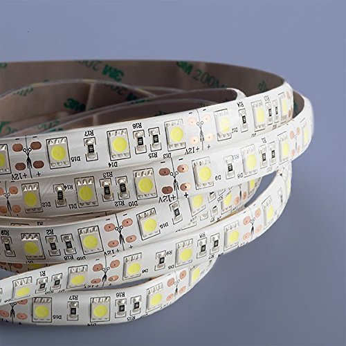 Preisvergleich Produktbild Mextronic LED Streifen LED Band LED Strip 5050 Kaltweiß (6000k) 72W 500CM 12V IP44