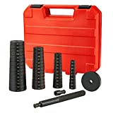 Orion Motor Tech 52-in-1 Custom Bushing Driver Tool Set and Transmission Wheel Axle Bearing Race Seal Installer Remover, Bush Removal Puller Bearing Press Tool Kit